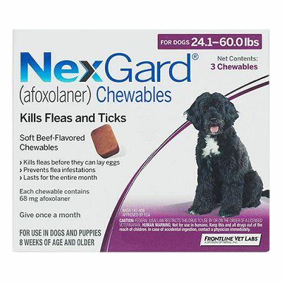 NEXGARD tablete protiv buha i krpelja za pse težine 10-25 kg