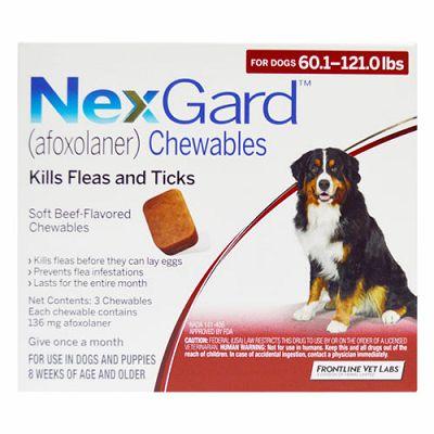 NEXGARD tableta protiv buha i krpelja za pse težine 25-50 kg
