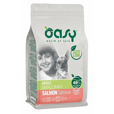 OASY One Protein / Adult Mini losos hrana za pse 800g
