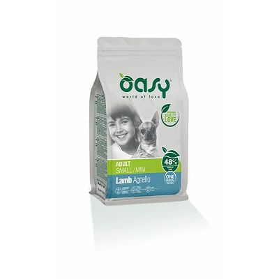 OASY Adult small mini lamb / janjetina hrana za male odrasle pse 800g