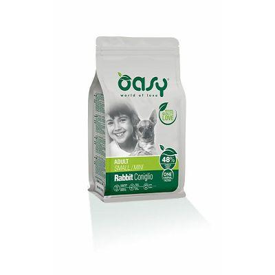 OASY Adult small mini rabbit / zec hrana za odrasle male pse 800g