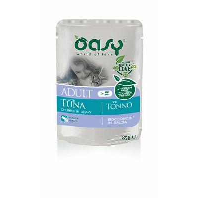 OASY Adult Tuna / tuna hrana za odrasle mačke 85g