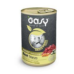 OASY Adult medium-large Beef grain free - hrana bez žitarica, govedina hrana za pse 400g
