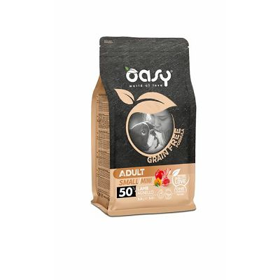 OASY grain free - hrana bez žitarica adult small hrana janjetina 2,5kg