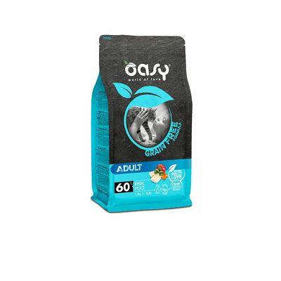 Oasy grain free - hrana bez žitarica adult cat riba 1,5kg