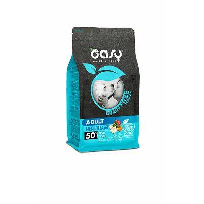 OASY grain free - hrana bez žitarica adult medium riba 12kg