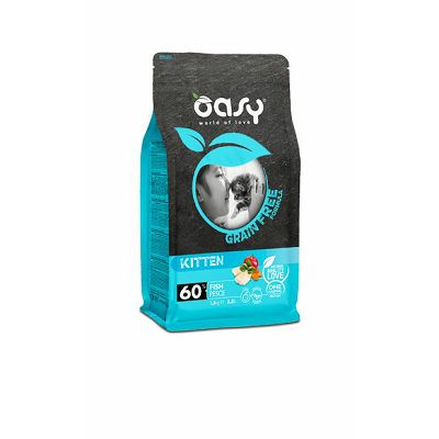 Oasy grain free - hrana bez žitarica kitten riba 300g