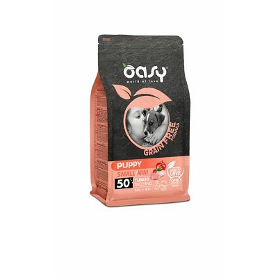 OASY grain free - hrana bez žitarica puppy small hrana puretina 2,5kg