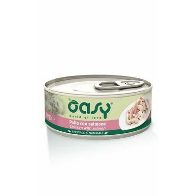 OASY hrana za mačke piletina sa lososom 150g