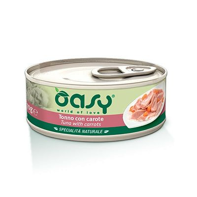 OASY hrana za mačke tuna sa mrkvom 70g