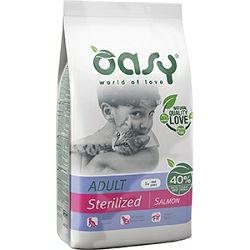 OASY Hrana za odrasle sterilisane mačke s lososom, 1.5kg