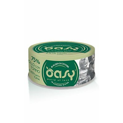 OASY More Love 75% / Adult PILETINA & TUNA 70g