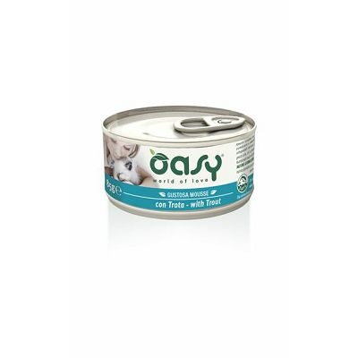 OASY Mousse / Adult PASTRMKA 85g