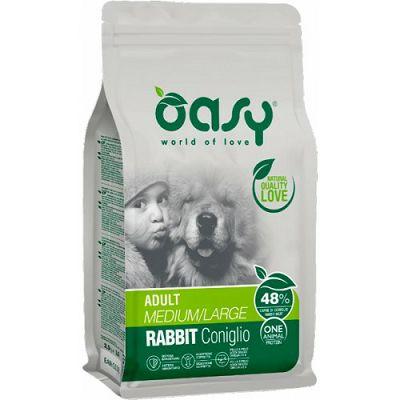 OASY One Protein / Adult Rabbit medium - large kunić hrana za pse 12kg