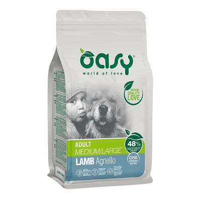 OASY One Protein Adult medium - large / janjetina hrana za pse 2,5kg