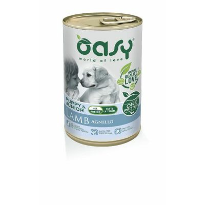 OASY One Protein / All Breeds Puppy JAGNJETINA 400g