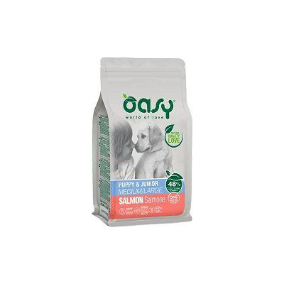 OASY One Protein Puppy & Junior medium - large / losos hrana za štenad 2,5kg