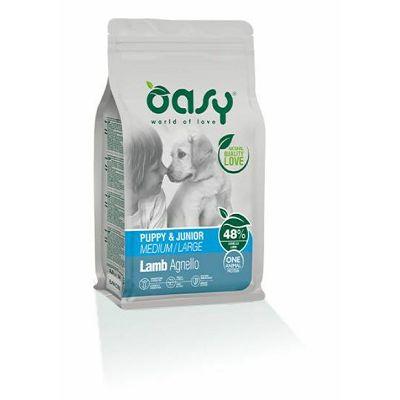 OASY One Protein Puppy & Junior medium - large / janjetina hrana za štenad 2,5kg