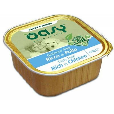 Oasy Paté Junior / PILETINA 150g