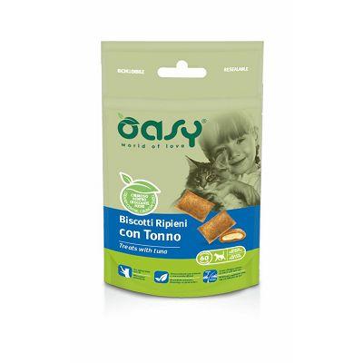 OASY poslastica za mačke keksi s tunjevinom 60g