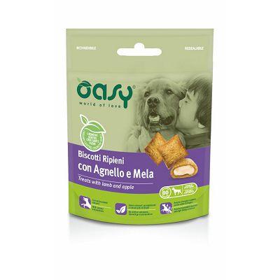 OASY poslastica za pse keksi s janjetinom i jabukom 80g
