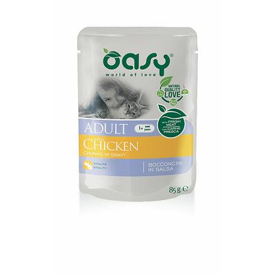 OASY Pouch / Adult PILETINA 85g