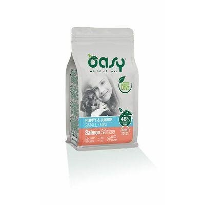 OASY Puppy & Junior small mini salmon / losos hrana za štenad 800g