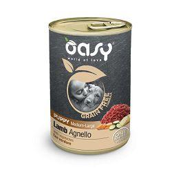 OASY Puppy Lamb grain free - hrana bez žitarica, janjetina hrana za štence 400g