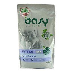 OASY Suha hrana za mačiće KITTEN Piletina, 1.5 kg