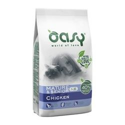 OASY Mono Protein / Mature & Senior7+  PILETINA 300g