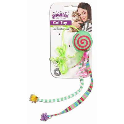 Pawise Cat Toy Octopus igračka za mačke