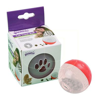 Pawise Cat Treat Ball 8,5cm igračka lopta za mačke