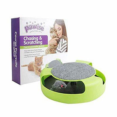 Pawise Chasing & Scratching igračka i grebalica za mačke
