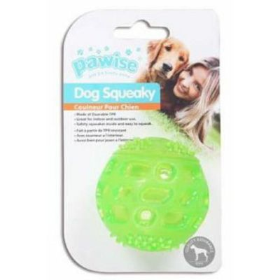 Pawise Dog Squeaky lopta 5,5cm igračka za psa