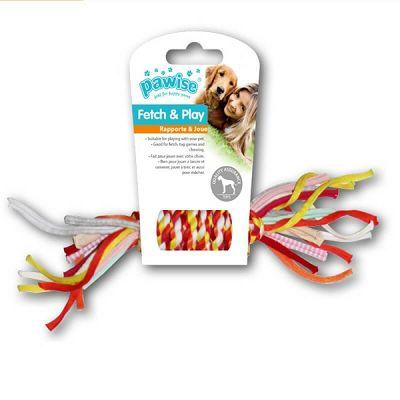 Pawise Fetch & Play pleteno uže igračka za psa