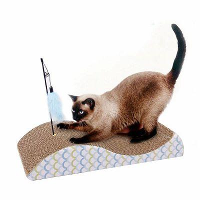 Pawise Fish Cat Scratch grebalica za mačke