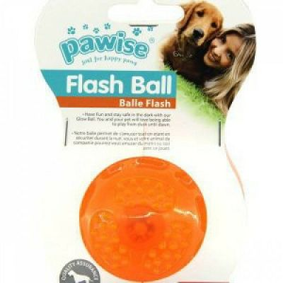 Pawise Flash Ball Light Up lopta S 6cm