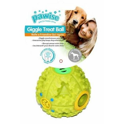 Pawise Giggle Treat Ball 7cm lopta igračka za psa