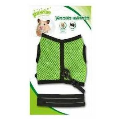 Pawise Jogging Harness prsnik za glodare L zeleni