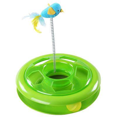 Pawise Kitty Roundabout igračka za mačku 26cm