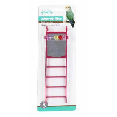 Pawise ljestve sa ogledalom igračka za ptice