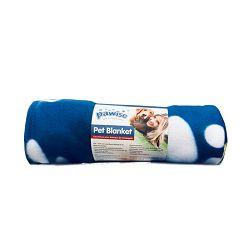 Pawise plava dekica za pse 100x70cm