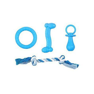 Pawise plavi Puppy set igračke za psa