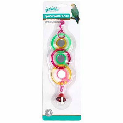 Pawise prstenovi sa zvonom igračka za ptice