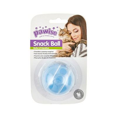 Pawise Snack Ball igračka lopta za mačke 5cm