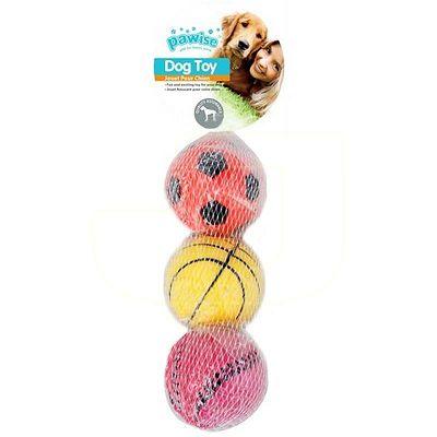 Pawise Sponge Ball 3 lopte igračke za pse