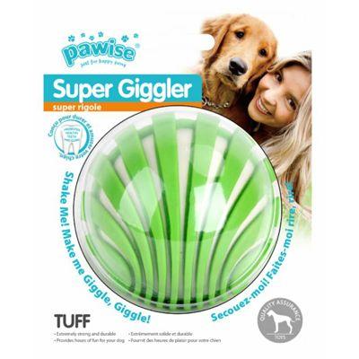 Pawise Super Giggle lopta 8cm igračka za pse