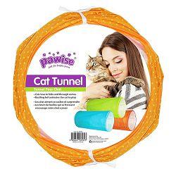 Pawise tunel za mačke orange 50x25cm