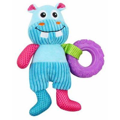 Pawise Vivid Life Hippo igračka za pse