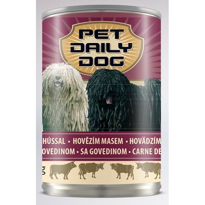 Pet Daily Dog/ GOVEDINA 415g